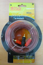 5m Twin OFC 2x RCA PHONO Audio LEFT RIGHT Cable Male to Male Lead GOLD Car Home