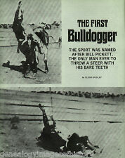 Black Rodeo Star Bill Pickett-Bulldogger+Bienvendia,Miller,Moore,Pegg,Rivero