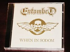 Entombed: When In Sodom EP CD 2006 Candlelight Records USA CDL0321 NEW
