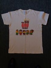 The Big Gru Theory white novelty t shirt medium
