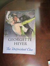 THE UNFINISHED CLUE GEORGETTE HEYER (PAPERBACK) C1939, C2009