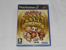 NEW Super Monkey Ball Deluxe Playstation 2 PAL Game PS2 SEALED monkeyball UK PAL