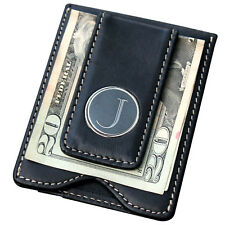 Personalized Money Clip and Wallet Combo - Black - Groomsmen Gift