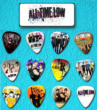 All Time Low -- Guitar Pick Tin includes 12 Guitar Picks  *Limited Edition*