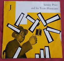 """SAMMY PRICE AND HIS TEXAS BLUESICIANS  25 CM 10"""" ORIG FR CFD"""