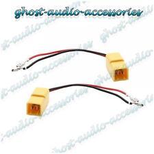 Paire de haut-parleur connecteur adaptateur câble sous plomb plug pour fiat