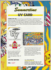Phonecards Australia 1994 Summertime $5 limited edition magnetic & UV check pack