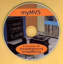 IBM 370 Mainframe OS on PC myMVS  GPSS-RPG-COBOL-FORTRAN-PL/1-Assem-SIMULA w/TSO