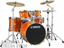 "Yamaha Stage Custom Birch Drum Set+780 Hardware HONEY AMBER w/20"" Bass SBP0F57HA"