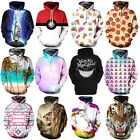 3D Graphic Printed Men Women Hoodie Sweater Sweatshirt Pullover Tops Jumpers#H81