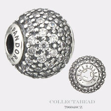 Authentic Pandora Essence Collection Sterling Silver Generosity Bead 796048CZ