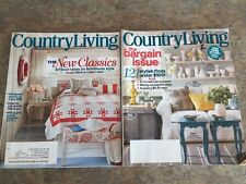Lot Of 2 Country Living Magazines July 2011 May 2012 Farmhouse Style DIY Ideas
