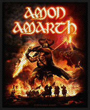 AMON AMARTH - Patch Aufnäher - Surtur rising 10x8cm