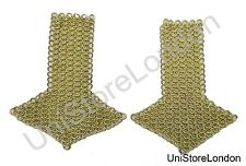 Chain mail Shoulder Board Pre WW1 Dress Tunic Chain Mail  Epaulette Gold R1425