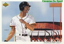 034 WILLIE MCGEE TC, CL SAN FRANCISCO GIANTS BASEBALL CARD UPPER DECK 1992