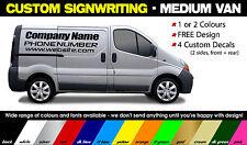 MEDIUM CUSTOM VAN  SIGN WRITING  - Vehicle Graphics / Decals / Stickers
