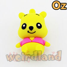Pooh USB Stick, 16GB Pooh Bear Winnie Quality USB Flash Drives WeirdLand