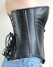 FIFTH SHADE OF SEX - Real Leather OVERBUST CORSET Size M SEXFULL WEAR Fetish NEW