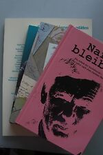 4 Bücher Zweiter Weltkrieg Narben bleiben Letzte Lebenszeichen Treibgut Gräber