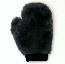 REAL SHEEPSKIN MITT CAR SOFT POLISHING GLOVE LAMBSWOOL WASHING CLEANING POLISH
