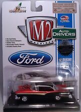 M2MACHINE 1:64 SCALE DIECAST METAL CANDY RED AND BLACK 197 FORD FAIRLANE 500