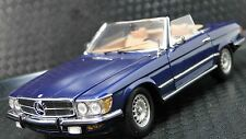 Vintage 1970s Mercedes Benz Sport Car Rare Exotic 1 24 Carousel Blue SL Metal 18