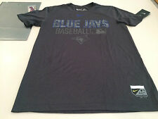 Toronto Blue Jays MLB Baseball Dri Fit Authentic Collection Grey T Shirt XL