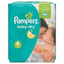 Pampers Baby Dry Windeln, Gr.4 (Maxi) 7-18kg, Monatsbox, 174 Stück
