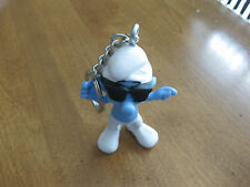 SMURFS  SMOOTH  SCHTROUMPFS  FIGURINE KEY RING KEY CHAIN