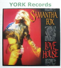 """SAMANTHA FOX - Love House - Excellent Condition 7"""" Single Jive FOXY 10"""