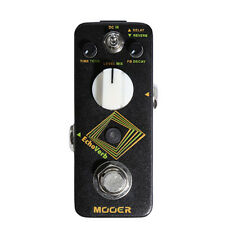 Mooer Echoverb Digital Delay Reverb Guitar Effects Pedal Stompbox True Bypass