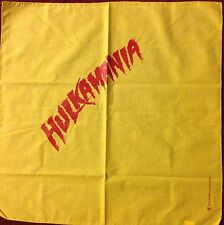 WWE HULK HOGAN Costume YELLOW Bandana NEW Wrestling HULKAMANIA