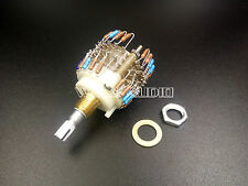 1PCS Assembled Dale 23 Step Attenuator 2-channel Volume Potentiometer 50k
