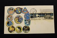 SPACE COVER 1972 MACHINE CANCEL APOLLO 17 MOON MISSION COMPLETED (569)