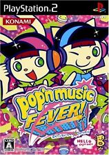 Used PS2 Pop'n Music 14 Fever   Japan Import (Free Shipping)