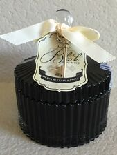 Dw Home Candle Black Rose And Oud Black Glass W/ Lid 5.6 Oz