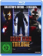 3 Blu-rays * IRON MAN TRILOGIE 1  2  3  COLLECTOR'S EDITION BOX # NEU OVP $