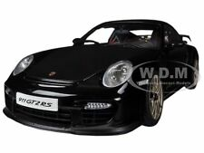 PORSCHE 911 (997) GT2 RS BLACK 1/18 DIECAST MODEL CAR BY AUTOART 77962