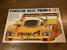 Tamiya 1/24 Porsche 962C From A Great Condition Super Rare