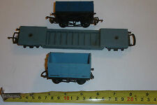 3 BLUE TRIANG OO GAUGE WAGON R118 TR1371 OPEN MINERAL GONDOLA +INSULFISH BOX +++