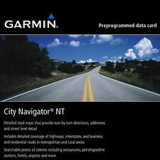 GARMIN City Navigator NT Street Map 2013 SD card North America USA Canada Mexico