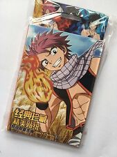 32PCS Fairy Tail Paper Sticker Kids Birthday Gift Colorful Anime Decal Sticker