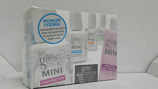 Nail Harmony Gelish Mini Basix Kit - Top Base Coat Ph Bond Nourish Remover