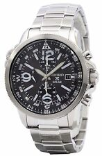 Seiko Solar Alarm Chronograph SSC075P1 SSC075 SSC075P Men's Watch