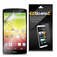 2X EZguardz LCD Screen Protector Cover HD 2X For LG Optimus F60 (Ultra Clear)