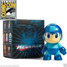 "SDCC 2016 EXCLUSIVE KIDROBOT METALLIC BLUE MEGA MAN 3"" MINI FIGURE LIMITED EDITI"