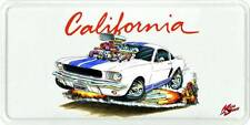 Shelby GT350 Mustang Muscle Car-toon License Plate NEW