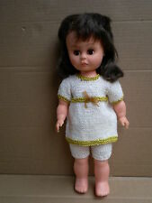 "Vintage Palitoy Bradgate I Walk Fashion 14"" Doll Made in England 70s for Repair"