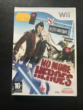 NO MORE HEROES, WII PAL FR, NEUF SOUS BLISTER
