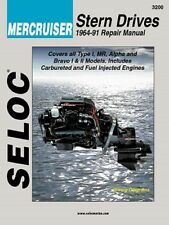 1964-1991 Mercruiser Stern Drives GM Ford 4 6 V6 V8 Seloc Repair Manual 0055